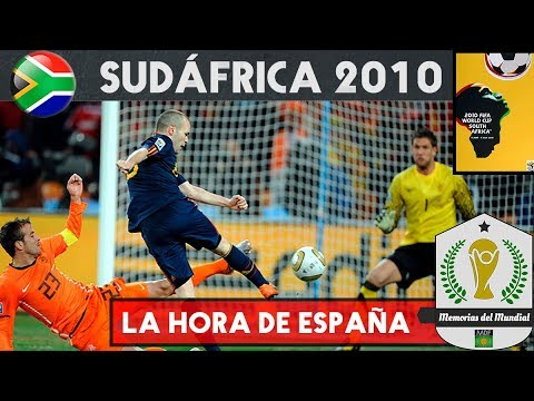 MUNDIAL SUDÁFRICA 2010 🇿🇦 | La España del Tiki taka | Historia de los Mundiales