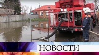 Во многих российских регионах сохраняется сложная паводковая ситуация.