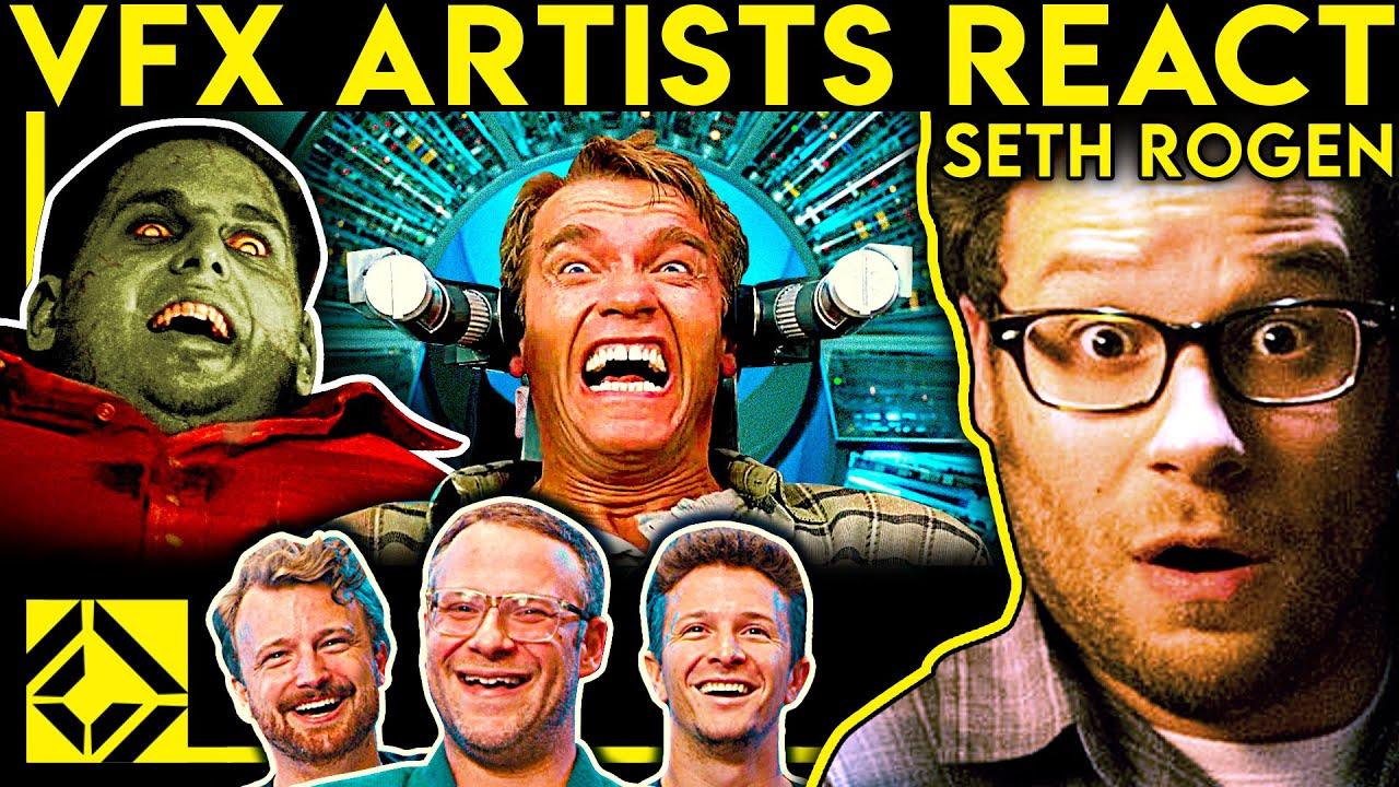 VFX Artists React to Bad & Great CGi 52 (ft. SETH ROGEN)