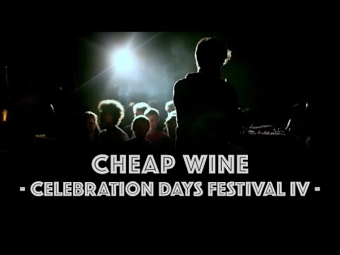 "◄ Cheap Wine ► ""Gravestone Smoke / Stay Strange Express"" • Live @ Celebration Days Festival IV"