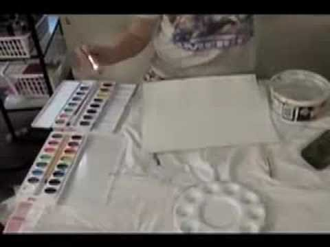 Painting Parrots- The Parrot Picture-Part 1
