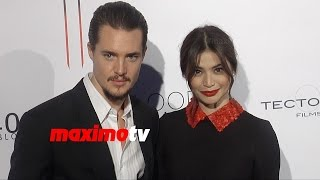 Alexander Dreymon & Anne Curtis   Blood Ransom Los Angeles Premiere   Red Carpet