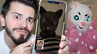 GERÇEK ANGELA ve TOM WHATSAPP'tan KONUŞTULAR!! (My talking Angela)