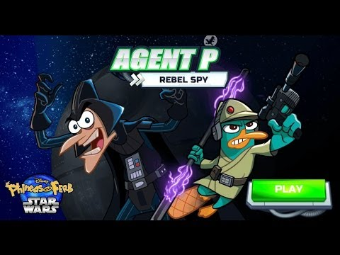Games: Phineas and Ferb (Star Wars) - Agent P: Rebel Spy