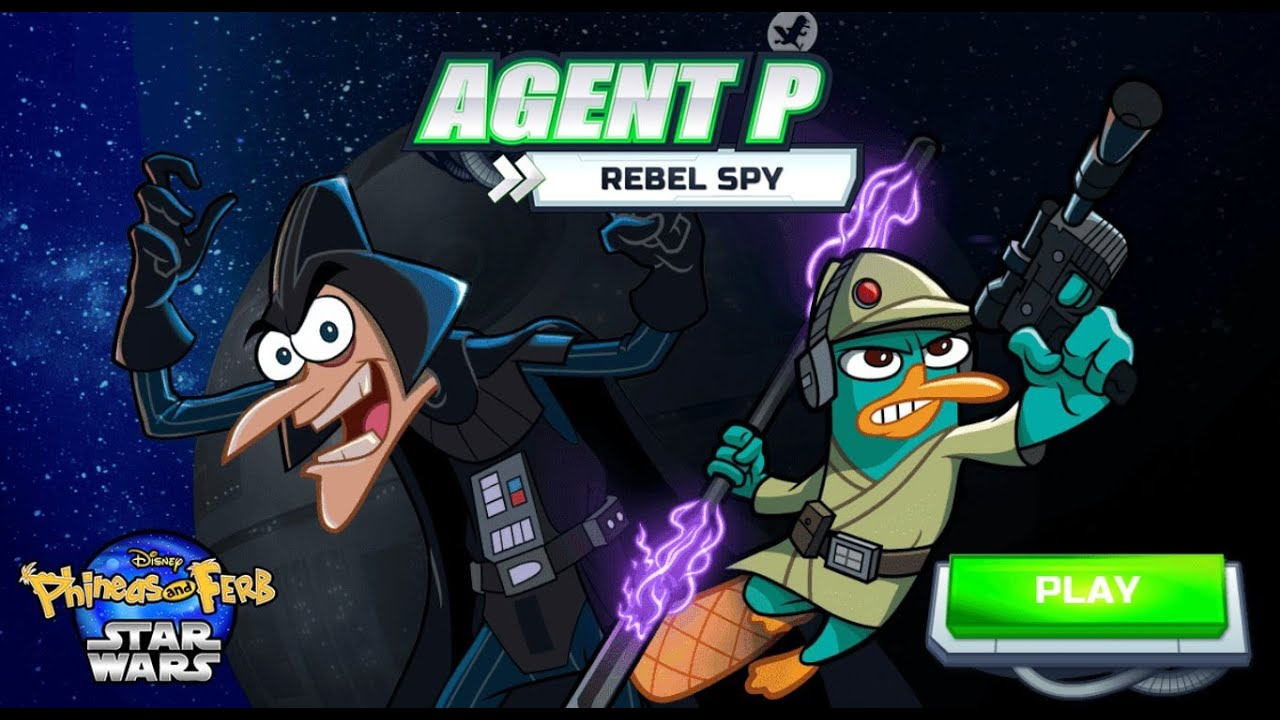 Games: Phineas and Ferb (Star Wars) - Agent P: Rebel Spy ...