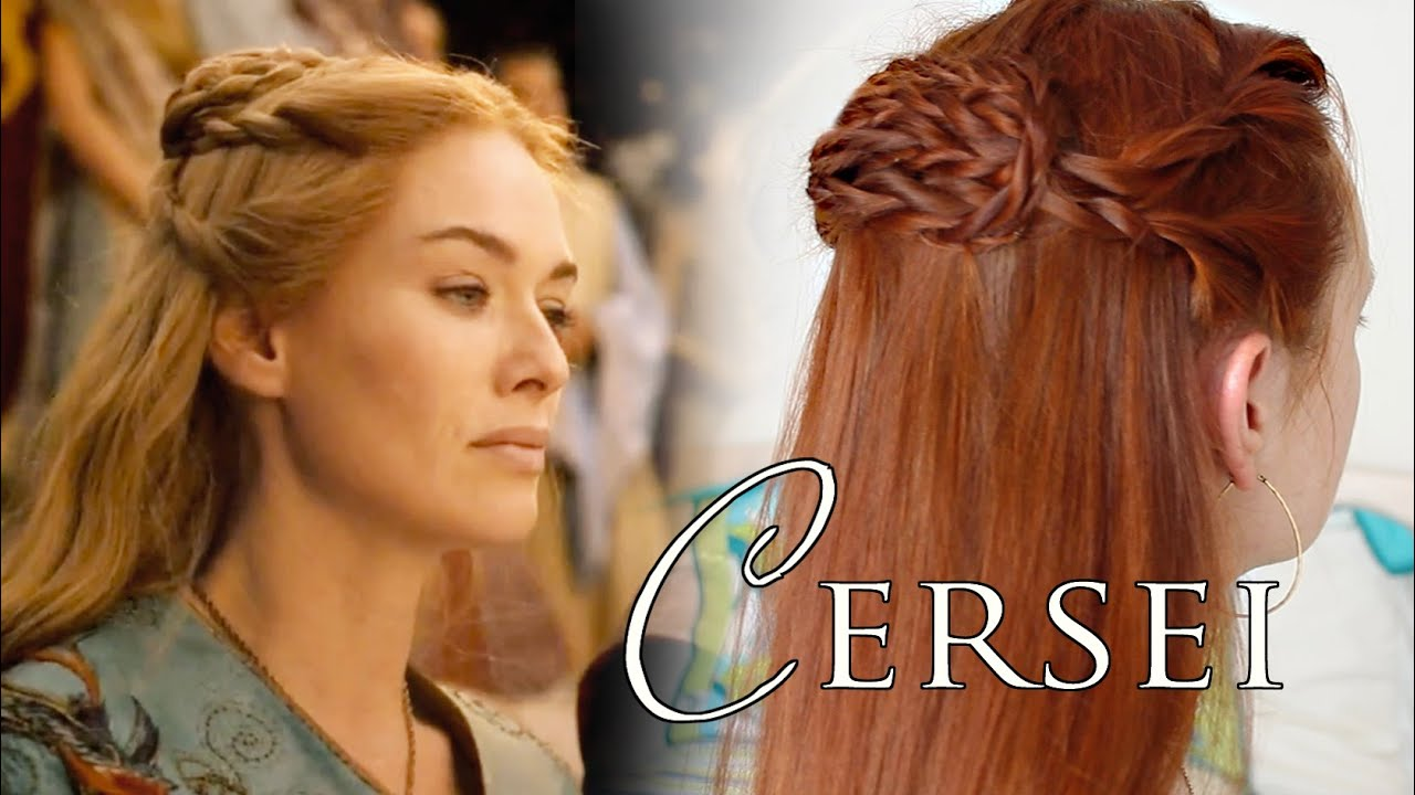 game of thrones hair tutorial - cersei at myrcella's embarkment