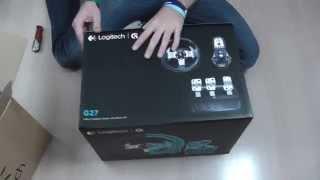 Logitech G27 Racing Wheel - rozbalení (unboxing)