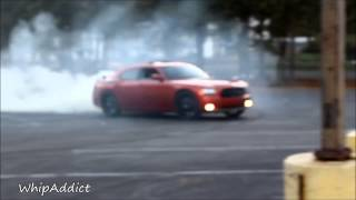 WhipAddict: Stunt Sunday Burnouts: Challengers, Chargers, Camaros