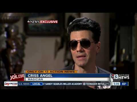 Criss Angel speaks out about incident