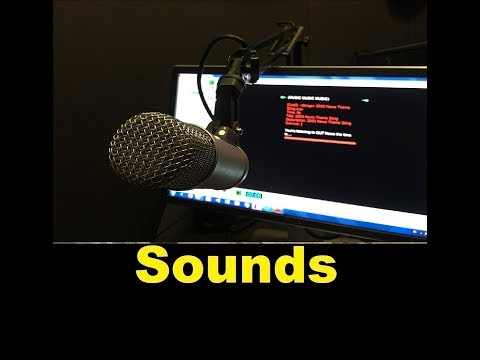 Radio Broadcasting Sound Effects All Sounds