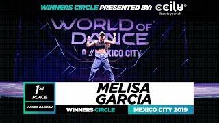 Melisa Garcia | 1st Place Jr | Winners Circle | World of Dance Mexico City 2019 | #WODMX19