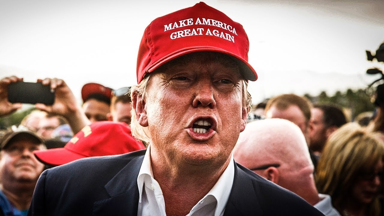 Image result for Trump in Maga hat