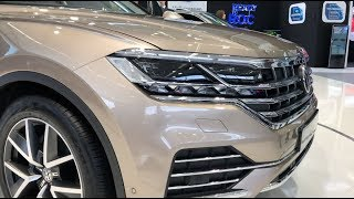 New Volkswagen Touareg 2019 - first look and review in 4K