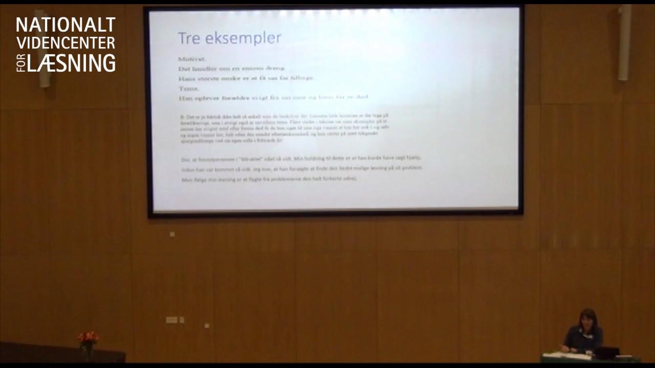 Oplæg v. Kristine Kabel, ph.d. afhandling, Dansk i mange retninger 2017