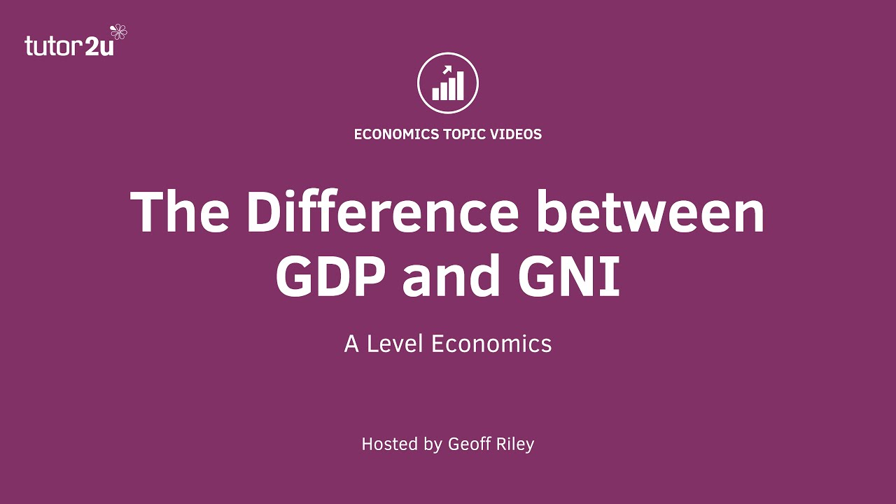 distinguish between gdp and gnp
