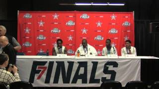 AHSAA Boys Class 6A Semifinals Press Conference - Carver
