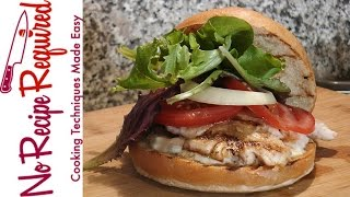 Tampa Bay Buccaneers Fish Burger - NFL Burgers - NoRecipeRequired.com