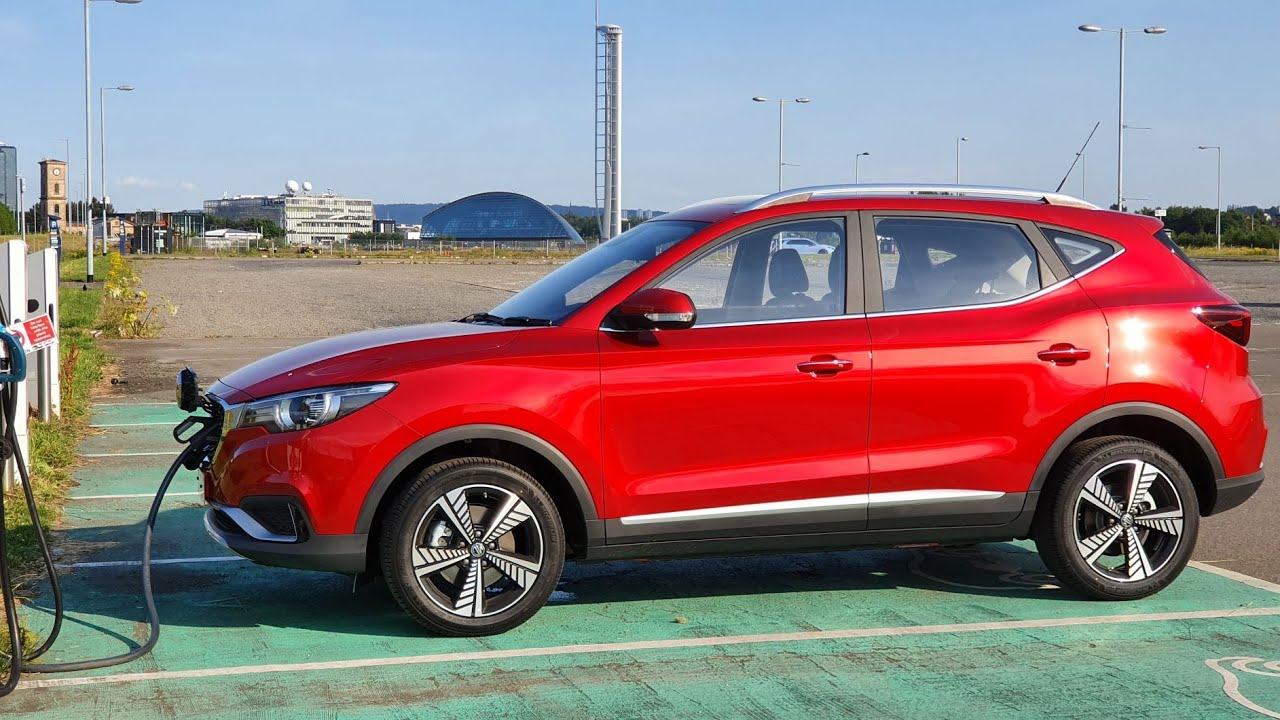 Living with the MG ZS EV #2 - Glasgow Round Trip
