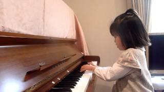 2012年1月に弾いたものです。ピアノを習って、1年1ヶ月。玲菜5歳。 カ...