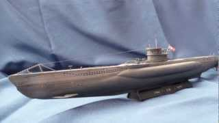 "Revell German Submarine Type VII C ""U 96"" in 1/144 scale"