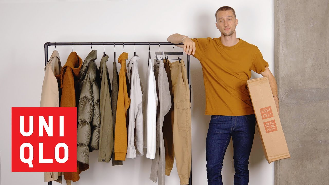 Uniqlo Essentials for Fall/Autumn 2019   Men's Fall Fashion Haul   OneDapperStreet 1