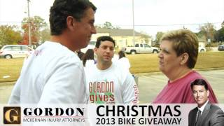 94+ FREE Bicycle Giveaway 2013 | Gordon McKernan Injury Attorneys