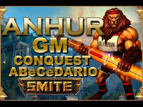 SMITE! Anhur, A falta de esperanza... lanza! GM Conquest Abecedario #5