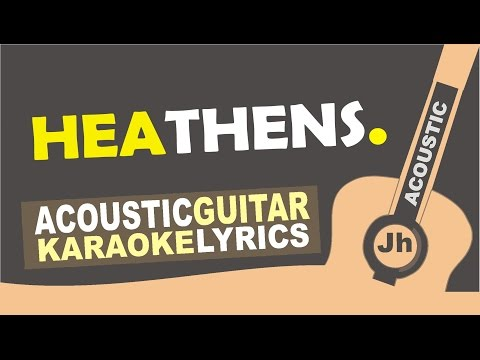 Twenty one pilots: Heathens (from Suicide Squad: The Album) [ Karaoke Acoustic ]