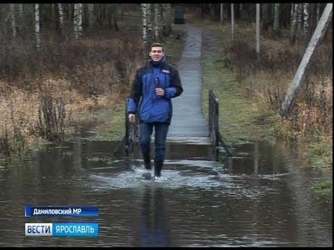 Большая вода захватывает все новые территории Ярославской области