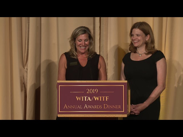 2019 WITA/WITF Annual Awards Dinner - Lighthouse Award - Women In International Trade (WIIT)