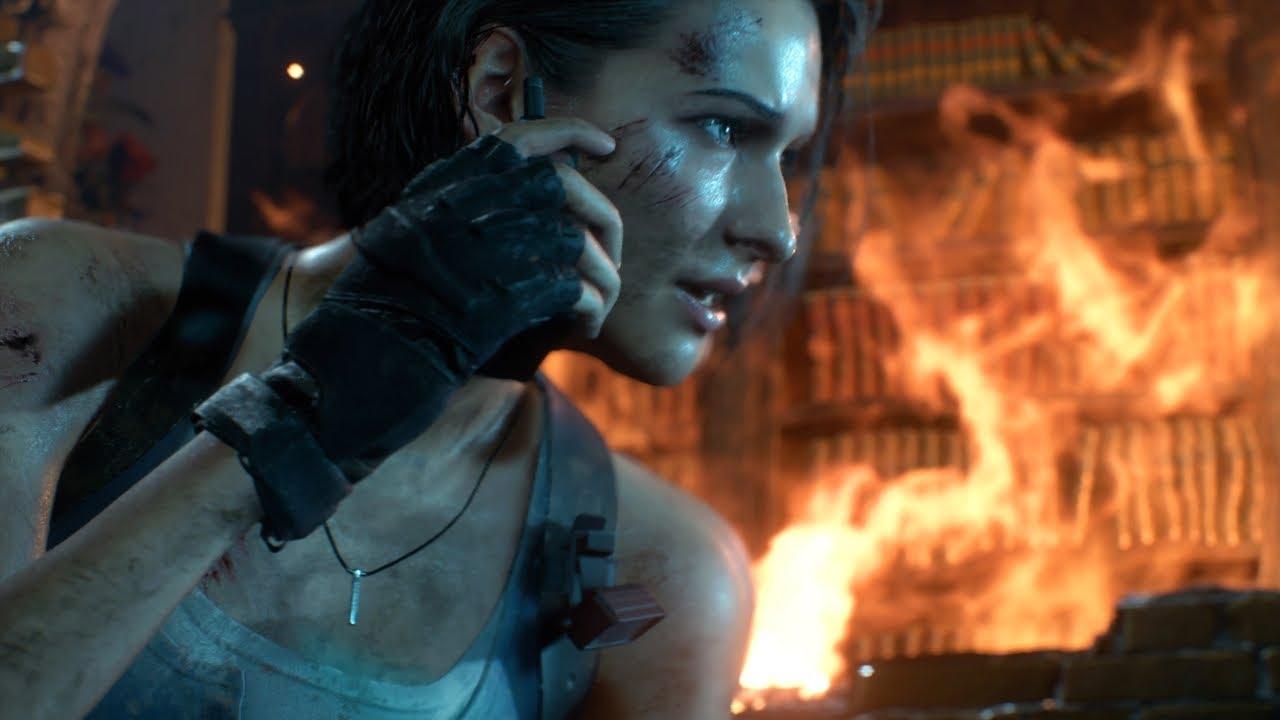 PS4《Resident Evil 3》重制版 吉儿·瓦伦丁参战预告 (中文字幕)