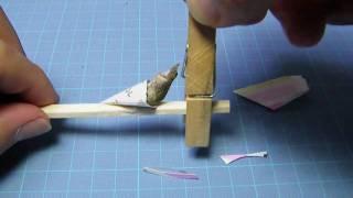 蛹の保護ポケットの作り方を動画にしてみました。なんらかの事情で蛹を...