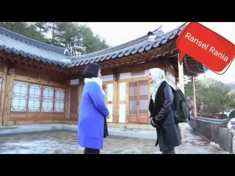 Ransel Bunga Citra Lestari di Film Jilbab Traveler Love Sparks In Korea