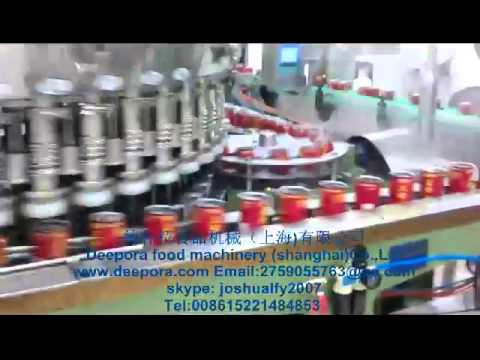 Canned Filling Machine Seaming Machine Canning Food