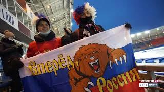 Личный Чемпионат мира по мотогонкам на льду в Тольятти. Короткий ролик
