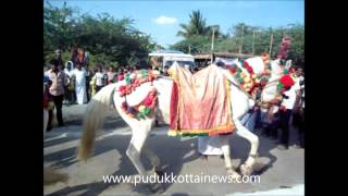 Horse Dance in Pudukkottai Muthumari Amman Temple Festival
