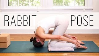 RABBIT POSE  -  Sasangasana  -  15 Minute Yoga Practice