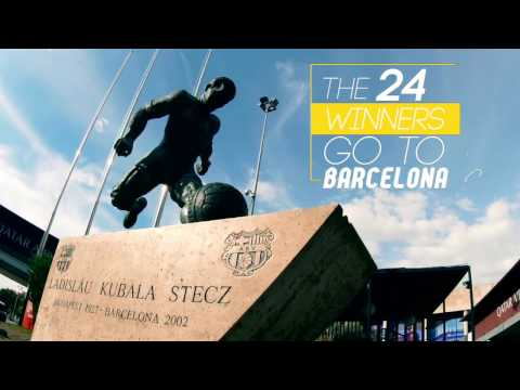 MEGA BARCA Camp Nou Trip Winners Go To Barcelona