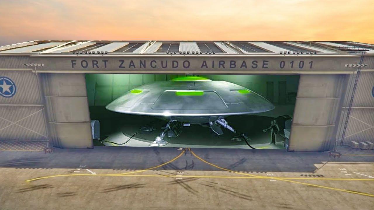 SECRET UFO Found in GTA Online Game Files 2020 (Fort Zancudo UFO)