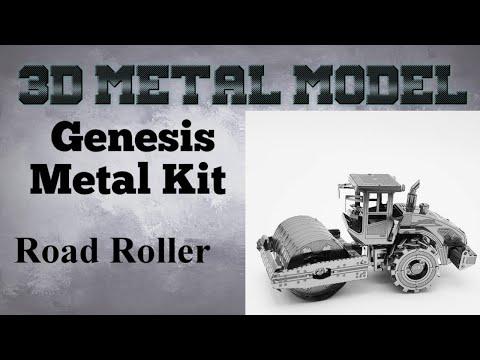 Genesis Metal Model Build - Road Roller