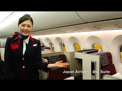 Japan Airlines | Explore the cabin | Sky Suite B789-900 |国際線787-900 に新たなビジネスクラス座席を導入