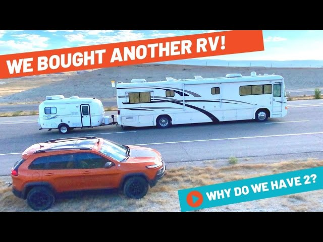 WE BOUGHT ANOTHER RV – NOW WE HAVE 2 ! WHAT RV DID WE GET? | Full-time RV Life