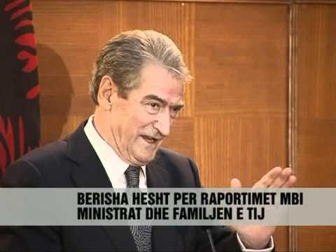 """Berisha: """"Wikileaks"""" si pasqyre e shtypit - Vizion Plus - News - Lajme"""