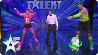 david vs goliath battle of the hula hoop britains got more talent 2013