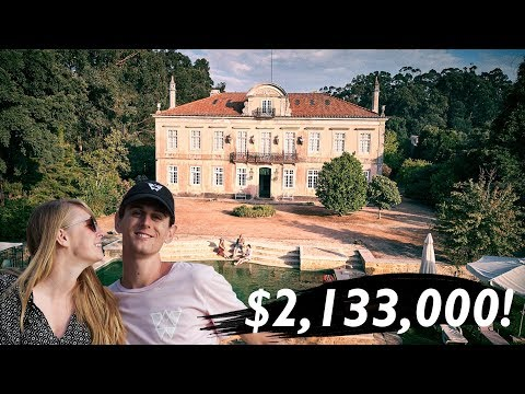 [WOW] Europe's Affordable Vacation Rental MANSION!