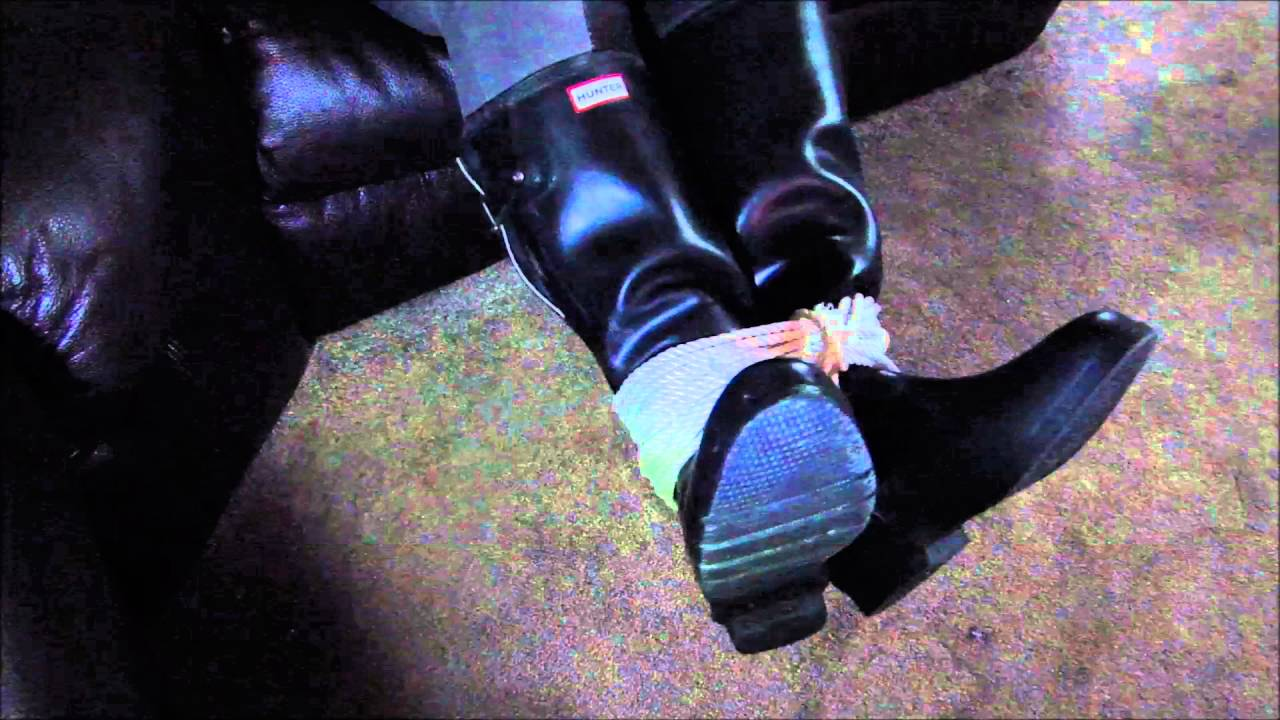 Hunter And Rubber Riding Boots Tied - Youtube