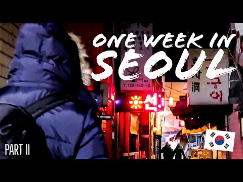 One Week in Seoul | Life in Korea | Hanging with EPIK Teachers | Part II