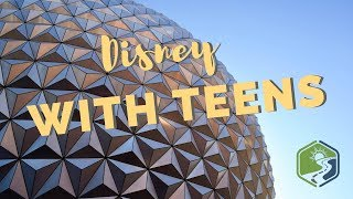 Disney World with Teens   Tips and Tricks Even in the Rain