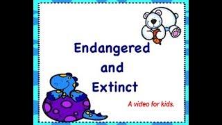 En peligro de extinción y animales Extintos