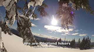 Crater Lake Snowshoe (Indigo Girls) Oregon 2014 GoPro hero 2